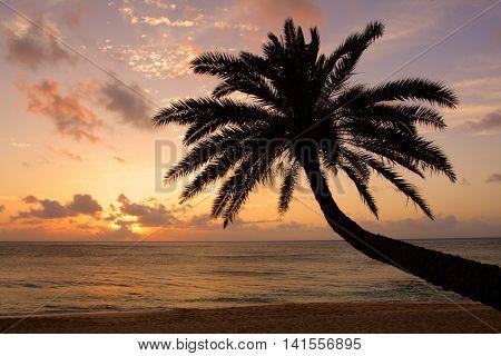 Sunset Beach, O'ahu, Hawaii..