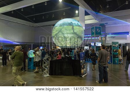 Multitouch Spherical Display System