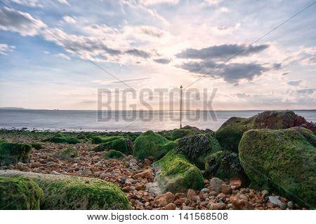 Long exposure in Gurnard Isle of Wight - (United Kingdom)