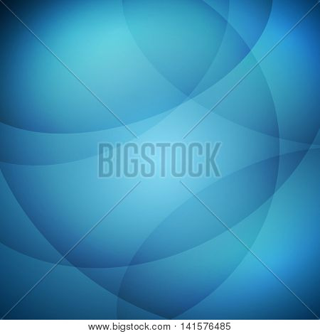 Abstract blue light vector background, stock vector