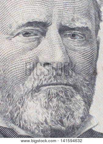 Ulysses S. Grant was Americas  two-term president