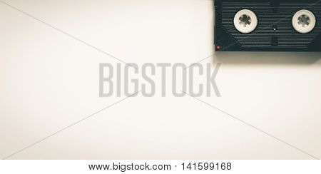 Mini videotape Home Video background vitnage tone