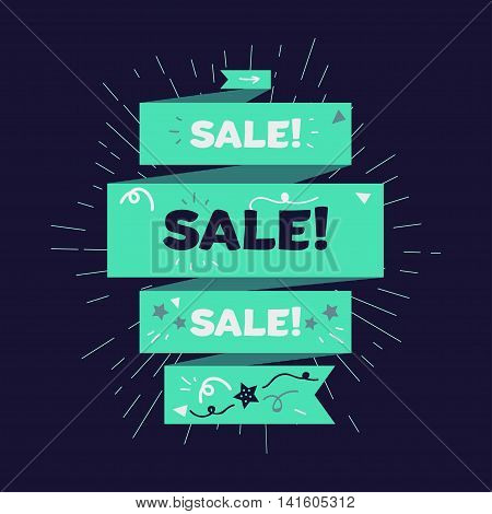 Advertising Sale Banner