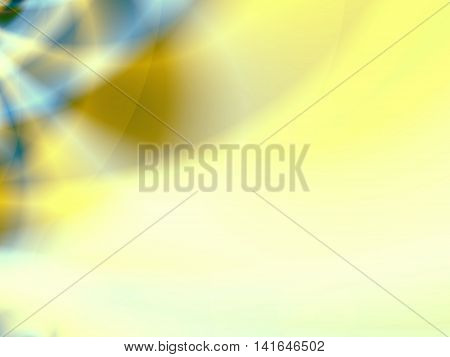 Abstract background with gradient multiple colors for ppt template -blue,greenish yellow, white.