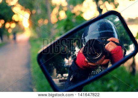 Female Photographer, Backpacking Journey