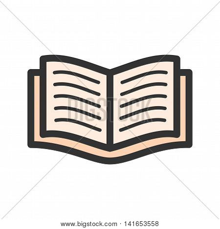 Books, school, study icon vector image. Can also be used for schooling. Suitable for use on web apps, mobile apps and print media.