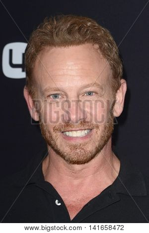 LOS ANGELES - AUG 4:  Ian Ziering at the 4Moms launch self-installing car seat at the Petersen Automotive Museum on August 4, 2016 in Los Angeles, CA