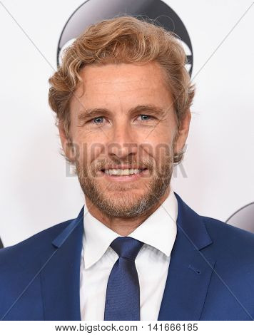 LOS ANGELES - AUG 04:  Brett Tucker arrives to the ABC TCA Press Party 2016 on August 04, 2016 in Hollywood, CA