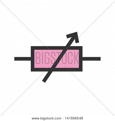 Technology, circuit, electronic icon vector image. Can also be used for electric circuits. Suitable for use on web apps, mobile apps and print media.