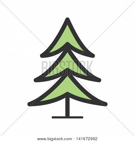 Tree, palm, trees icon vector image. Can also be used for hipster. Suitable for use on web apps, mobile apps and print media.
