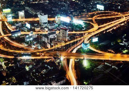 Multi Level Stack Interchange In Bangkok