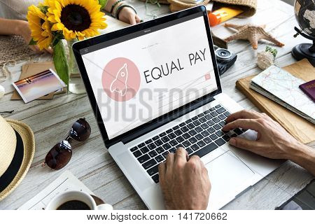 Equal Pay New Business Launch Plan Concept