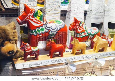 Red Horses, Swedish Souvenir