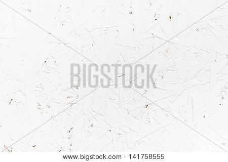 White oriented strand board White rustic wood wall texture background