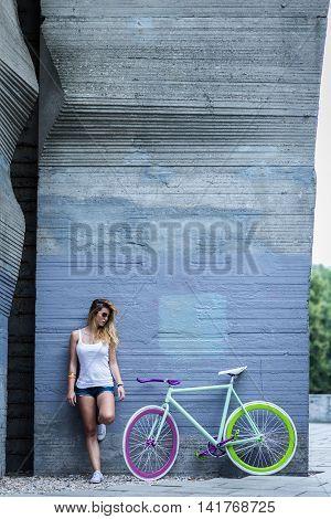 Biking In Urban Style