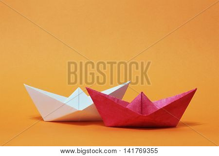 Two Paper Boats, Competition