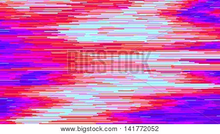 Colorful abstract background corrupted image vector file
