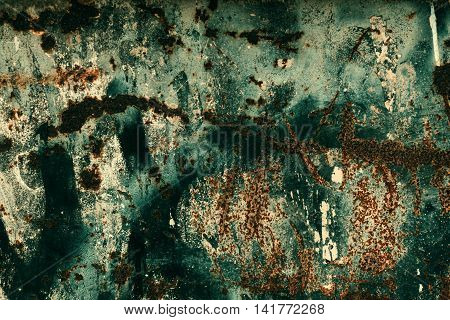 Abstract rust surface background. Grungy background close