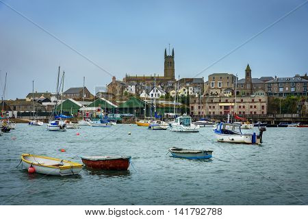 Penzance is a town civil parish and port in Cornwall in England United Kingdom.