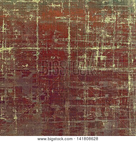 Grunge texture, scratched surface or vintage background. With different color patterns: brown; gray; red (orange); purple (violet); pink