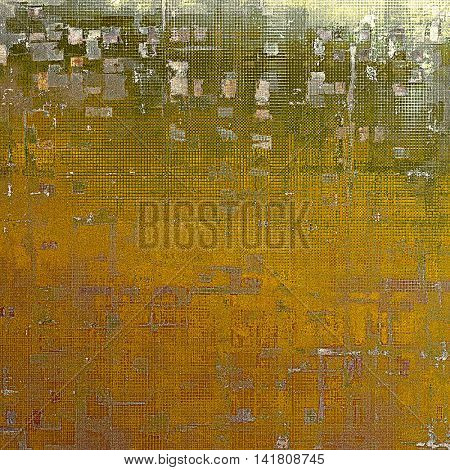 Elegant vintage background, antique texture. Designed grunge template with different color patterns: yellow (beige); brown; gray; green; red (orange); white