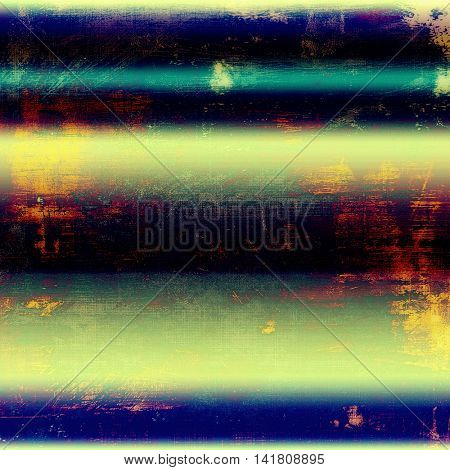 Abstract retro design composition. Stylish grunge background or texture with different color patterns: yellow (beige); blue; red (orange); purple (violet); black; pink
