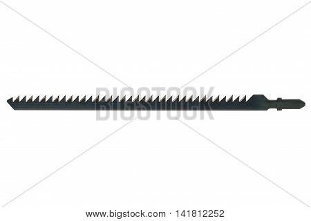 Blade for fret saw isolated on white background