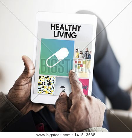 Pills Drugs Medication Cure Treatment Healthcare Browsing Concept