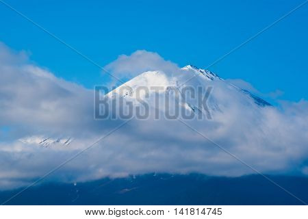 Beautiful Peak Fuji Mountain in japan.for wallpaper