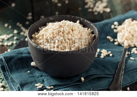 Raw Organic White Koji Rice Ready for Cooking poster