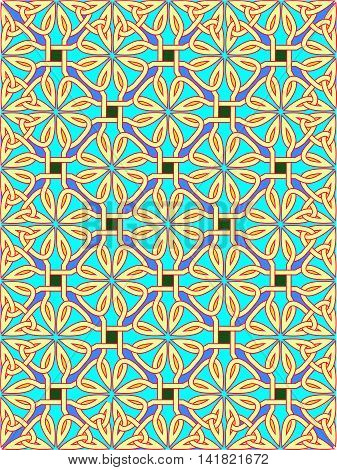 Background from traditional celtic an ornament - a vector