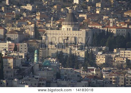 Basilica of the Annunciation - The Biblical Village of Nazareth in Israel