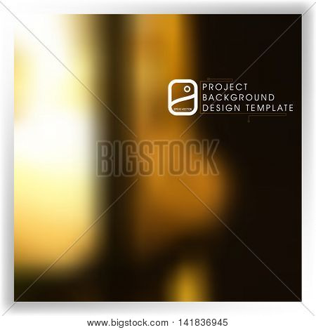 blurred abstract background template for your report, design, illustration, project concept. eps10 vector