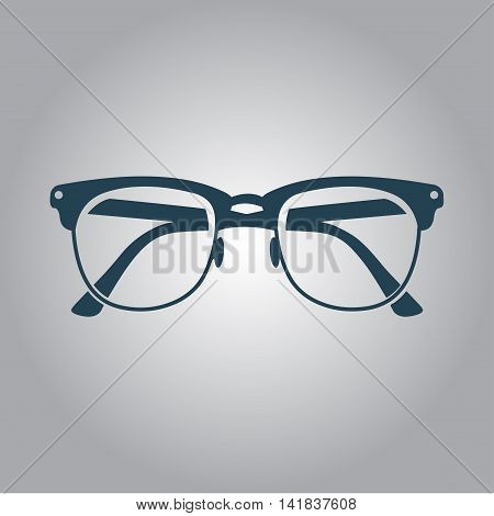 sign icon glasses. Vector. Eps 10. Icon for your design