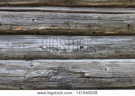 Old Wooden wall. Wood planks close up. Vintage background for wallpaper, poster, web and print design