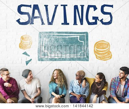 Savings Money Finance Economics Currency Concept