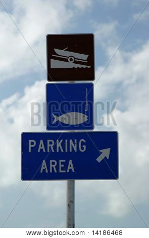 Parking And Fishing Area