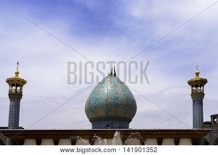 Shah-e-Cheragh complex Shrine and mausoleum in ShirazIran