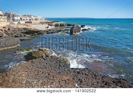 Coastal Landscape Outside Palma