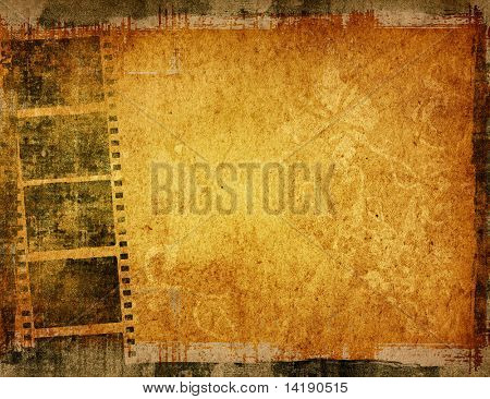 poster of Great film strip for textures and backgrounds frame