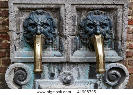 Peter Rubens House Tap Water In Antwerp