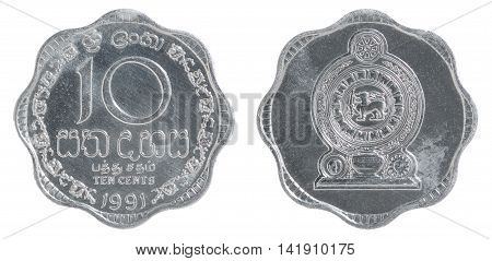 Sri Lanka Cent Coin