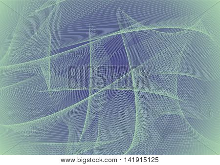 Abstract vector background. Patterns on blue background. Vector illustration.