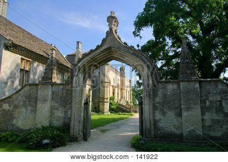 Lacock Abbey Entrance