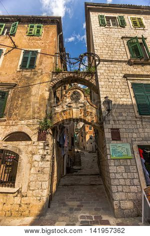 Old Historical Buildings Of Montenegro, Balkans