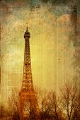 The Eiffel Tower - paris France poster