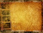Great film strip for textures and backgrounds frame poster