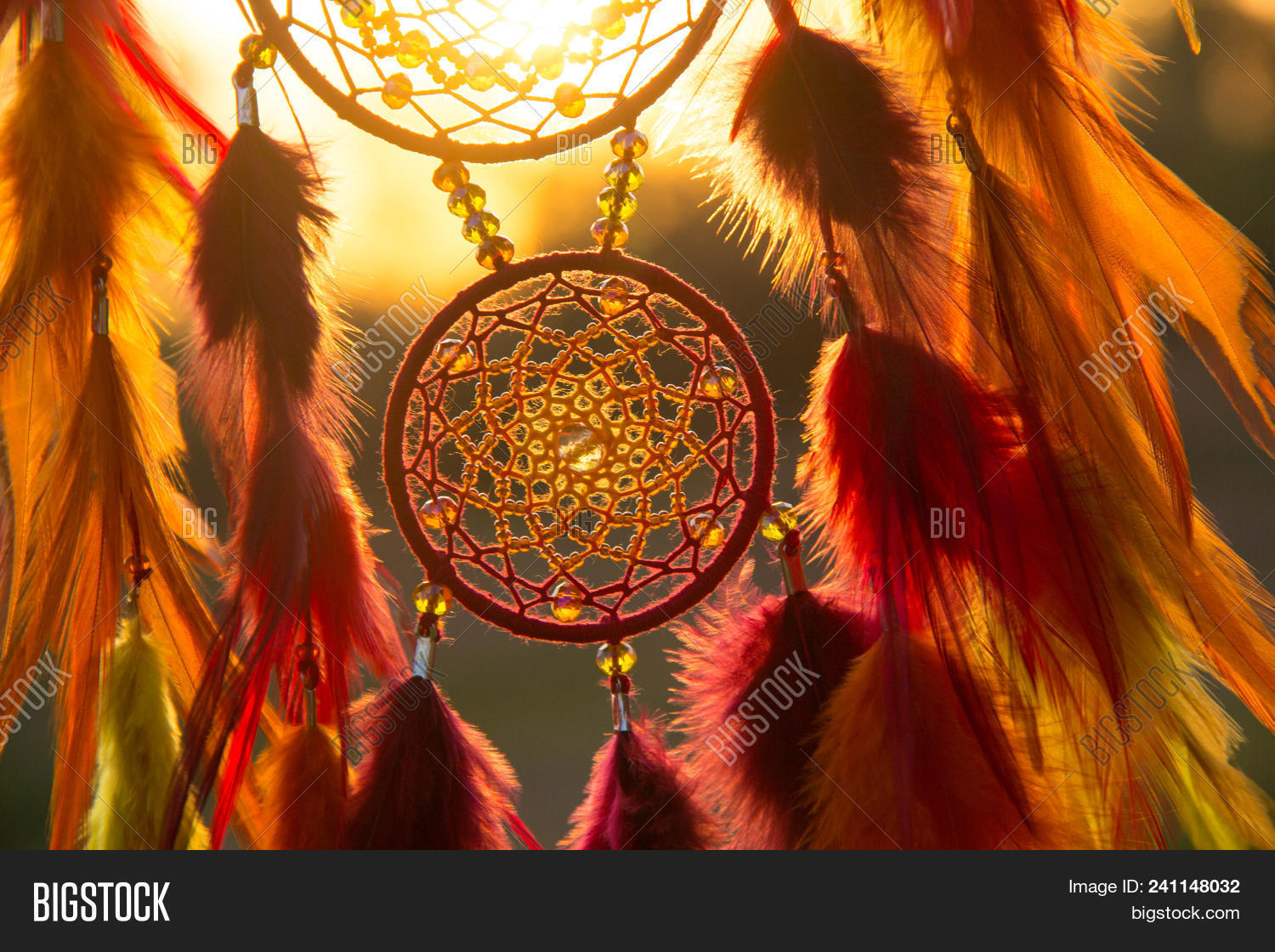 Dream Catcher Feathers Image Photo Free Trial Bigstock