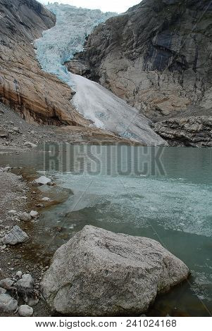 Briksdalsbreen (english: The Briksdal Glacier) Is One Of The Most Accessible And Best Known Arms Of