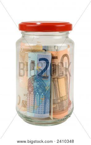 Savings In A Jar